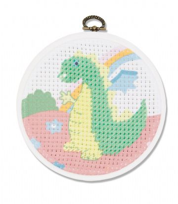 DMC My First Stitches Cross Stitch Kit - The Dragon BK1843